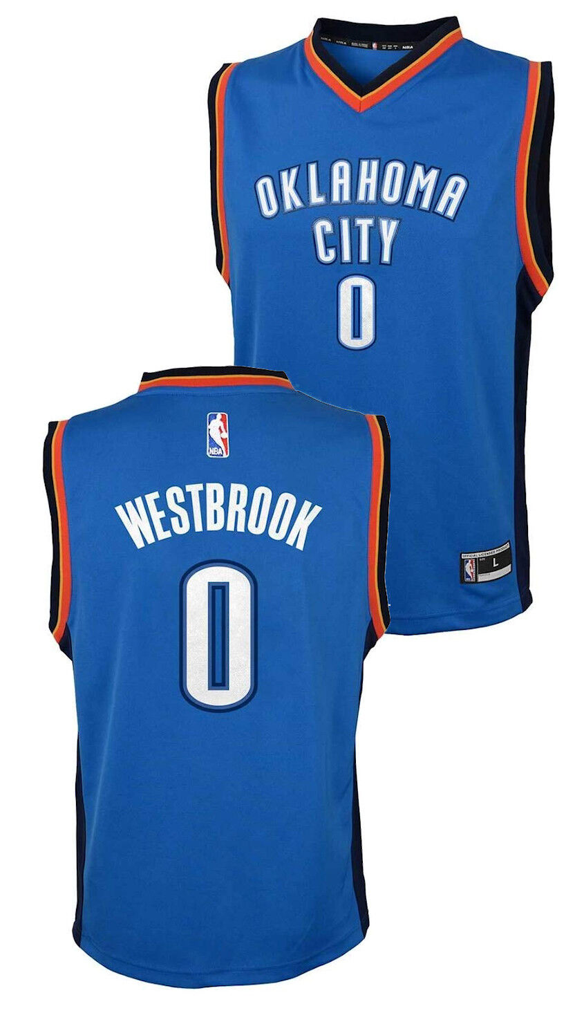 NBA Infant//Toddlers Oklahoma City Thunder Russell Westbrook #0 Player Shirt