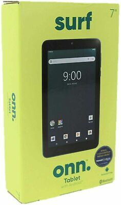 """ONN. Surf 7"""" Android Tablet 9.0 Pie 16GB 1.3GHz Quad-Core 2 Cam Bluetooth NEW"""