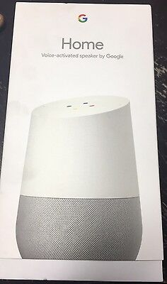 Google Home Voice Activated Speaker - Home Assistant  New In Box