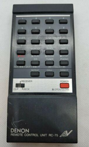 Denon Rc-75 Remote Control - $24.91