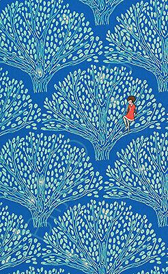 HALF YARD Michael Miller Sarah Jane Wee Wander Tree Glow Friends Sea