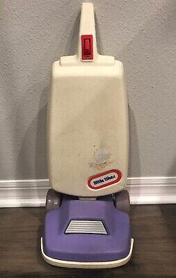 Little Tikes Vintage Child Size Vacuum Purple White Pretend Play Retired