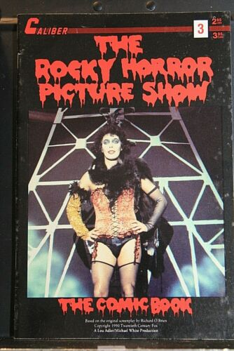 Rocky Horror Picture Show the Comic Book #3 - Caliber - 1991