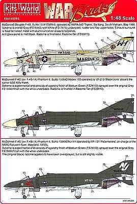 (Kits World Decals 1/48 MCDONNELL DOUGLAS F-4 PHANTOM II Part 1)