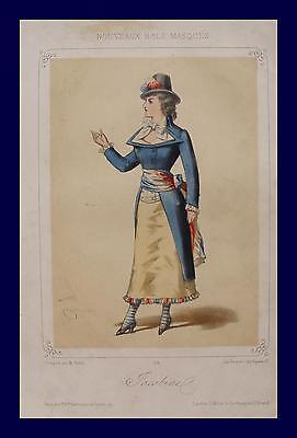 Frankreich Französische Revolution Jakobiner  Kostüm Theater Kostüm Rock Schärpe