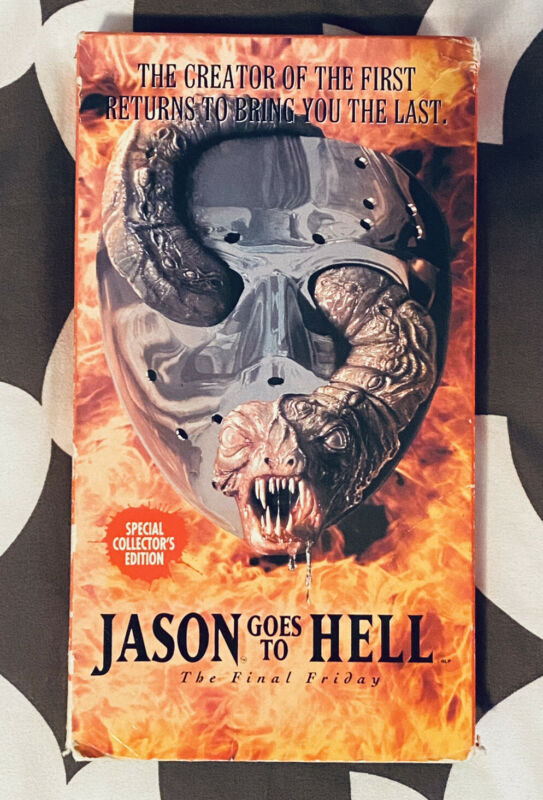 JASON GOES TO HELL THE FINAL FRIDAY VHS Test Played 13th Horror Halloween Elm St