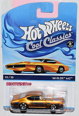 HOT WHEELS COOL CLASSICS '68 OLDS 442 #10/30 W+