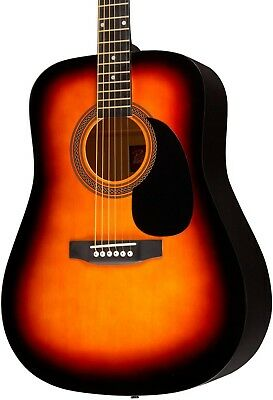 Rogue Ra 090 Dreadnought Acoustic Guitar Sunburst
