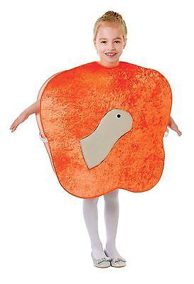 Wurm Kostüm (Giant Pfirsich Kostüm mit Wurm, Childrens Story Book Fancy Dress #DE)
