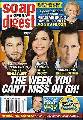 General Hospital Vincent Irizarry Arianne Zucker Oct  24  2016 Soap Opera Digest