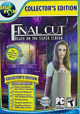 - Final Cut Death on the Silver Screen PC Games Windows 10 8 7 XP Computer NEW