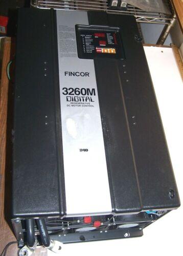 BOSTON FINCOR 3260 DIGITAL REGENERATIVE DC MOTOR CONTROL 40-150 HP 3263M 460 VAC