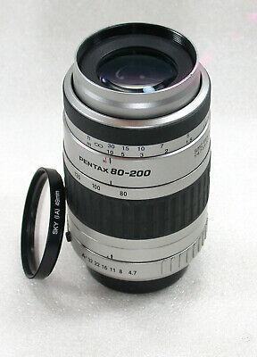 SMC Pentax-FA 80-200mm F4.7-5.6 Autofocus Lens, PK/AF Mount, No. 5992324