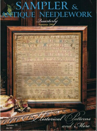 Sampler & Antique Needlework Quarterly Summer 2004