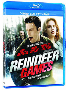 REINDEER GAMES  - DIRECTOR'S CUT *NEW BLU-RAY/DVD COMBO*