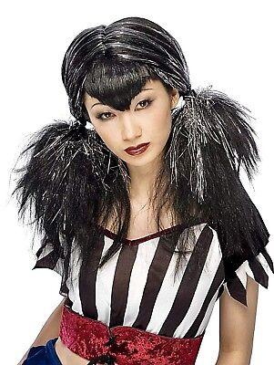 DARK ANGEL Wig HALLOWEEN Costume Accessory VAMPIRE Anime PUNK Goth RAVE New (Dark Angel Halloween Costume Accessories)