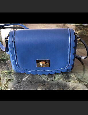 Blue Kate Spade Crossbody Bag