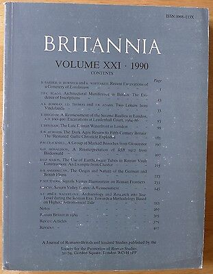 Britannia: a Journal of romano-british and kindred studies. Volume XXI, 1990