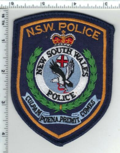 New South Wales Police (Australia) Uniform Take-off Shoulder Patch from 1980
