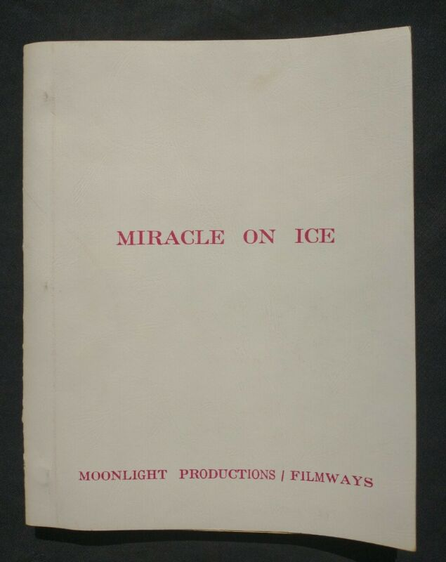 Miracle On Ice (1981) Original USA vs. USSR Olympic Hockey Movie Script