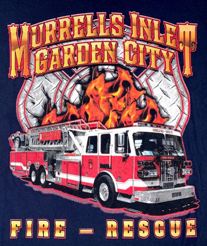 Murrells Inlet Garden CIty Fire Georgetown SC T- Shirt XL South Carolina FDNY