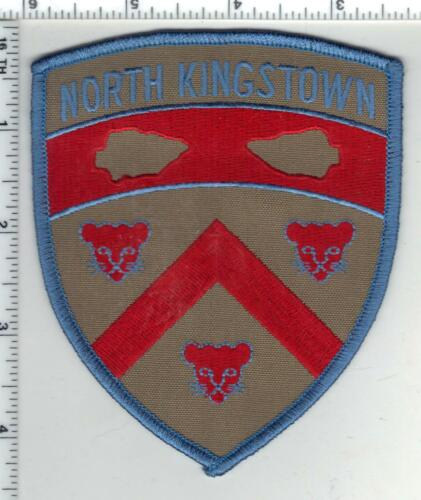 North Kingstown Police (Rhode Island) 2nd Issue Shoulder Patch