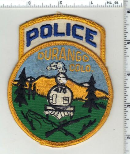 Durango Police (Colorado) 2nd Issue Uniform Take-Off Shoulder Patch