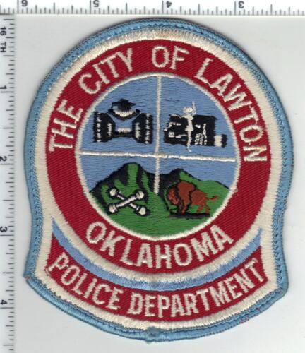 Lawton Police (Oklahoma) 3rd Issue Shoulder Patch