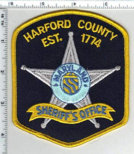 Harford County Sheriff (Maryland) 3rd Issue Shoulder Patch