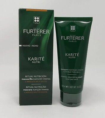Furterer Karite Nutri Intense Nourishing Mask for Very Dry Hair 3.5 oz NIB