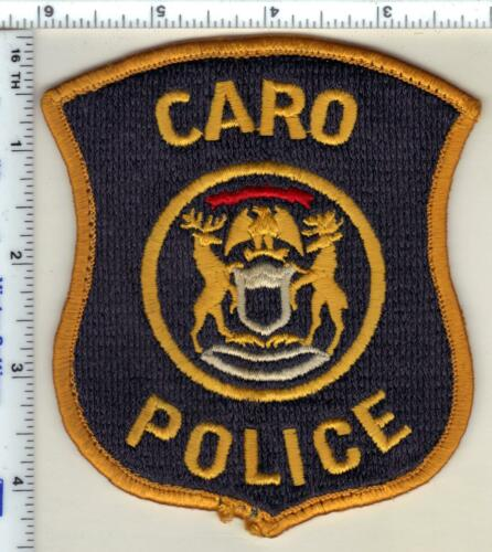 Caro Police (Michigan) Uniform Take-Off Shoulder Patch from 1991