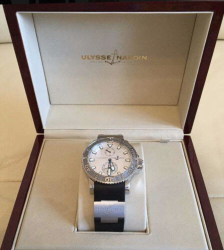 Ulysse Nardin 9800$ Maxi Marine Diver 263 33 Automatic Watch - watch picture 1