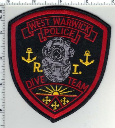 West Warwick Police (Rhode Island) 1st Issue Dive Team Shoulder Patch