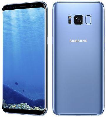 Samsung Galaxy S8+ Plus G955F DS 64GB BLUE DUAL SIM FACTORY UNLOCKED SMARTPHONE