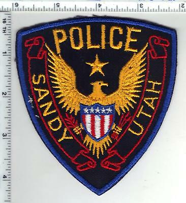Sandy Police (Utah) Shoulder Patch from the Early 1980's