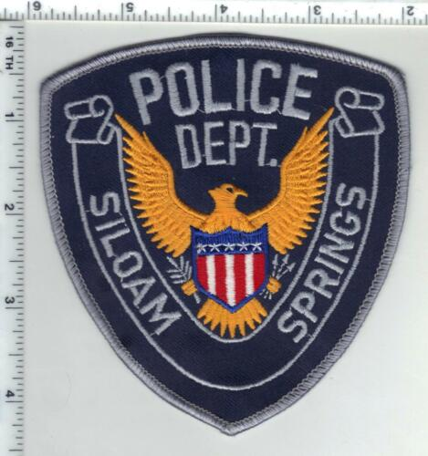 Siloam Springs Police (Arkansas) 1st Issue Shoulder Patch