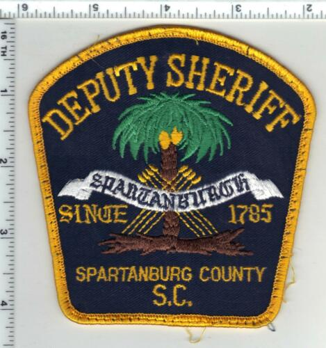 Spartanburg County Sheriff (South Carolina) 3rd Issue Uniform Take-Off Patch