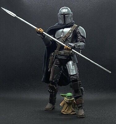 The Mandalorian Beskar Spear Unpainted Black Series 1/12 Scale