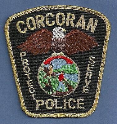 CORCORAN MINNESOTA POLICE PATCH
