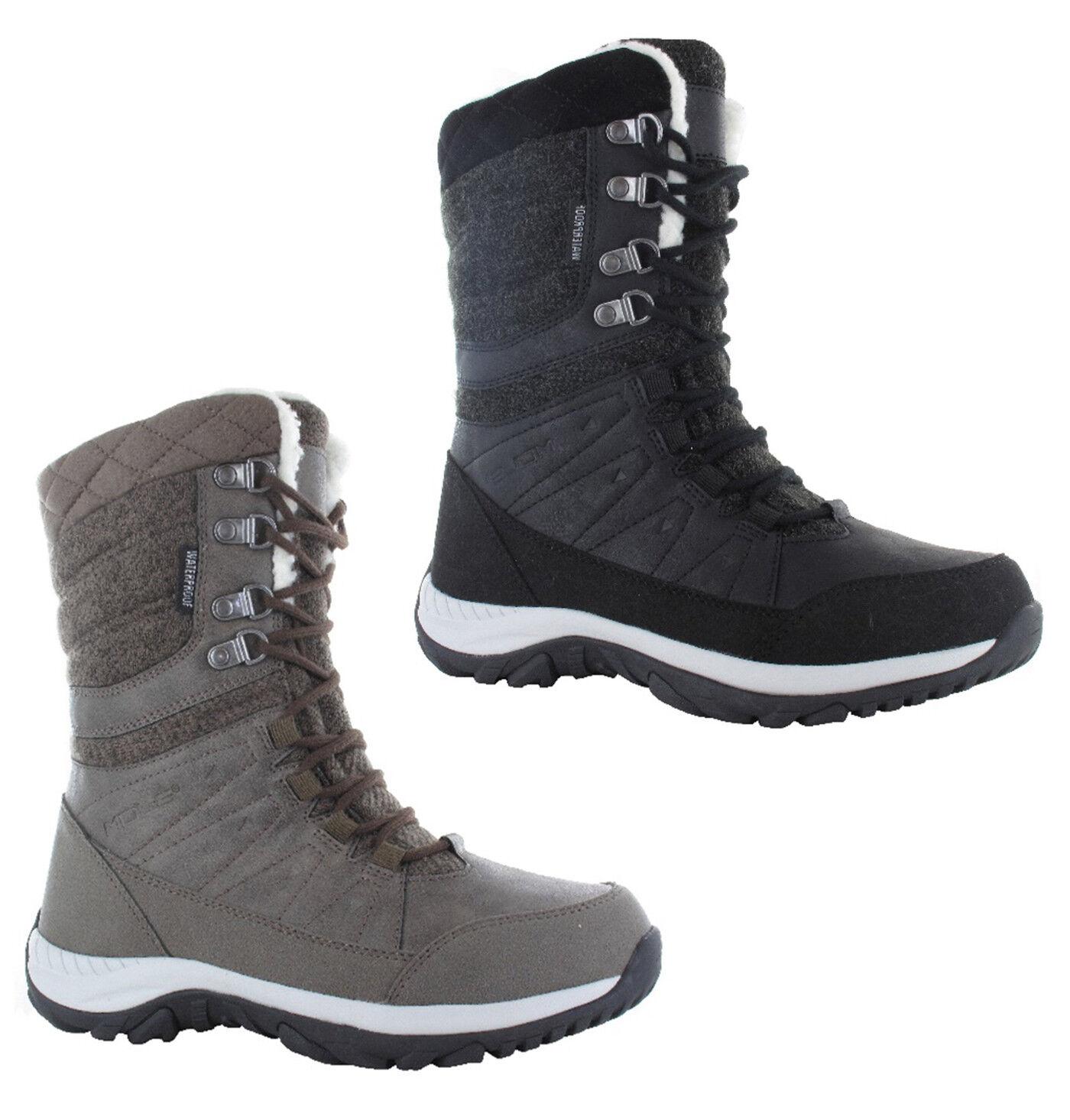 Hi-Tec Womens Riva Waterproof Lightweight Winter Walking Hiking Boots UK4-8