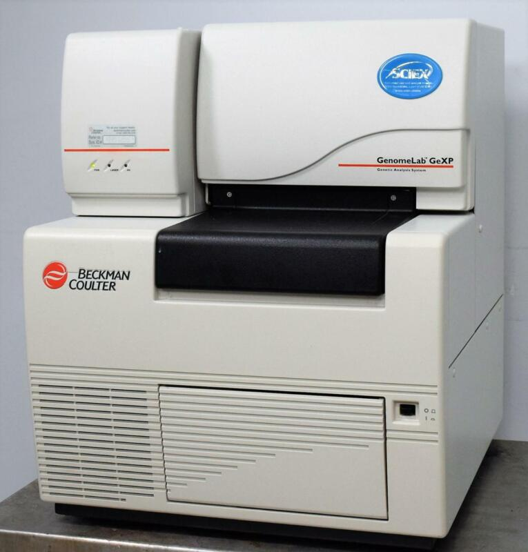 Beckman Coulter Genomelab GeXP Genetic Genome DNA Sequencer qPCR Analysis System
