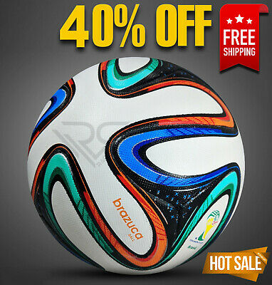 BRAZUCA BALL WORLD CUP 2014 BRAZIL SOCCER BALL [SIZE 5] by│Rampage Sports