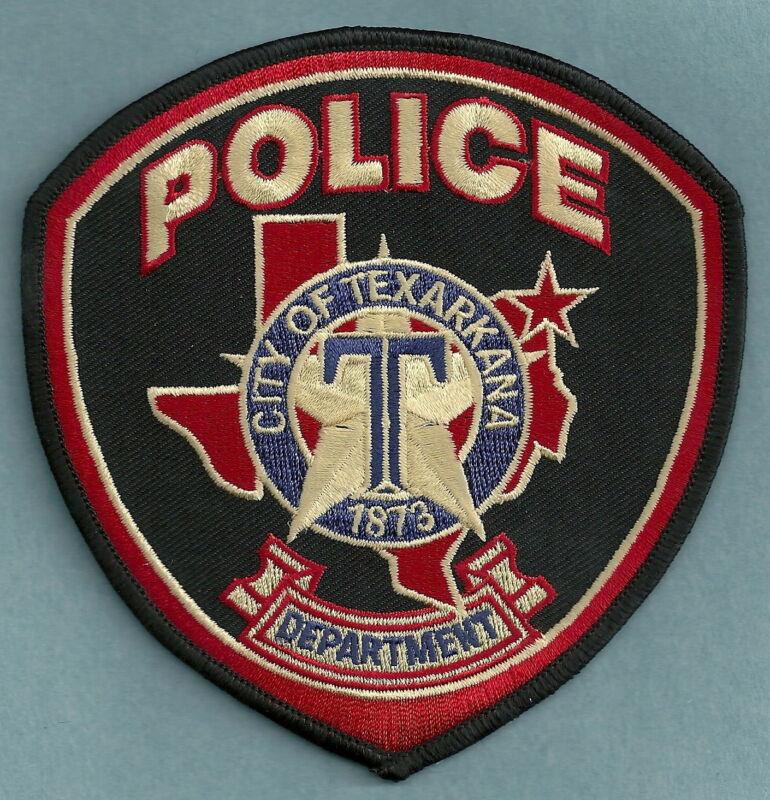 TEXARKANA TEXAS POLICE SHOULDER PATCH