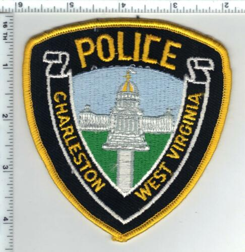 Charleston Police (West Virginia) 2nd Issue Uniform Take-Off Shoulder Patch