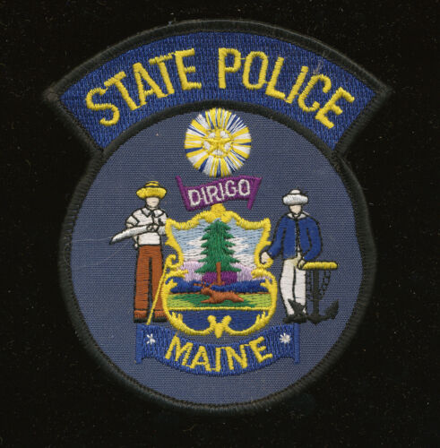 B31 - MAINE STATE POLICE PATCH, Unused.
