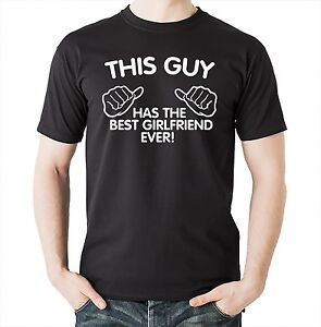 This guy has the best girlfriend ever funny gift t shirt This guy has an awesome girlfriend shirt