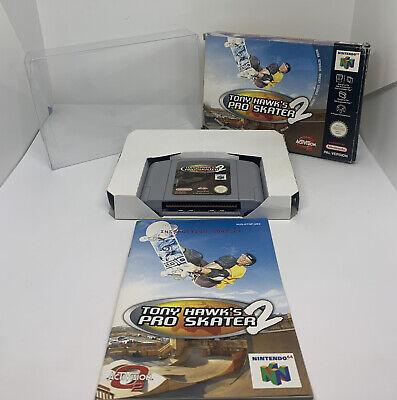 Nintendo 64 N64 Game Tony Hawks Pro Skater 2 - Boxed Complete - PAL