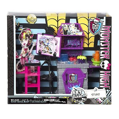 Monster High Doll - School Accessory Toy Playset - Art Class Studio