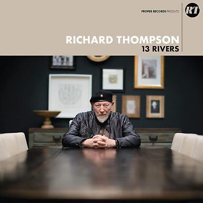 RICHARD THOMPSON 13 RIVERS 2 X LP VINYL SET (Release September 14th 2018)