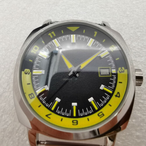 42mm watch case dial hands Discount package fit NH35 NH36 automatic movement q